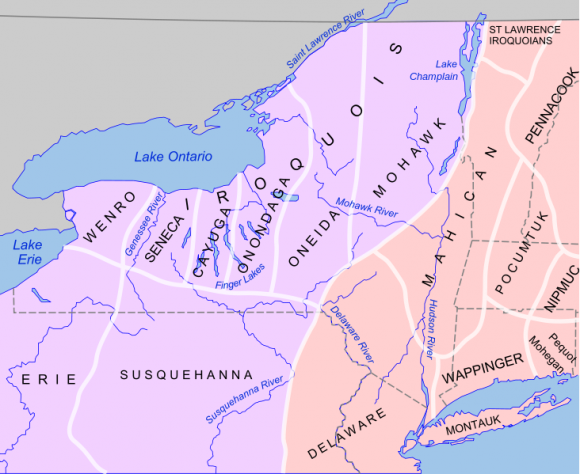 Early Localization Native Americans NY