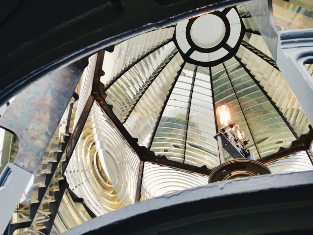 Heceta lighthouse lens
